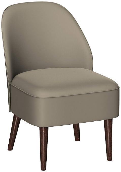 GO en sillón Cliff Piel Vaca en Claro y barnizada 83 x 57 x ...