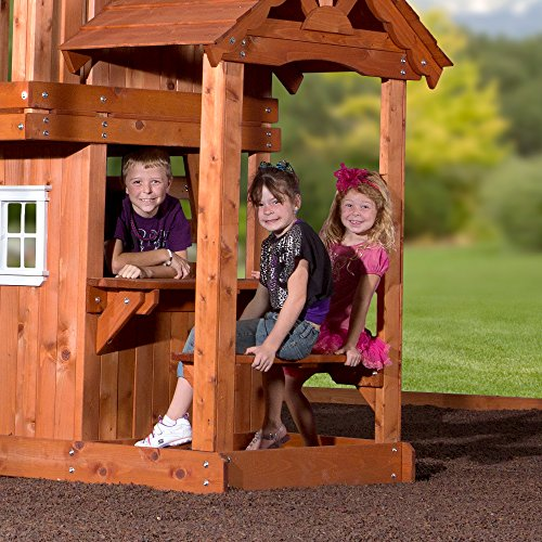 Buy wooden swing sets