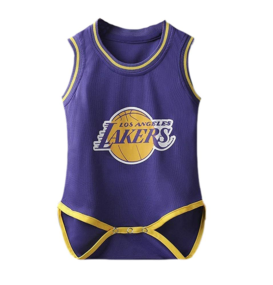 Basketball-Strampler /Ärmellose Kasonj Babybody atmungsaktive Babykleidung