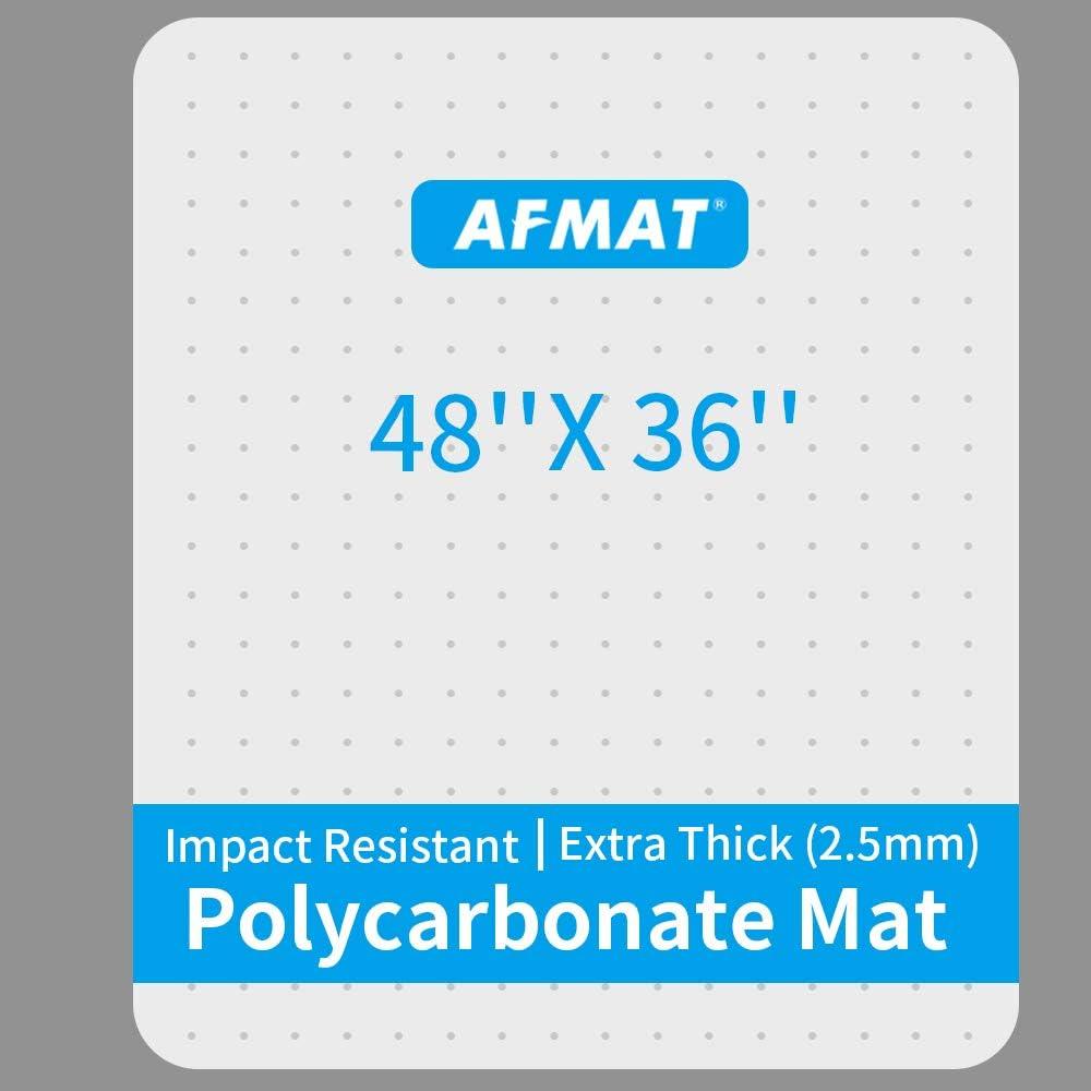 Best heavy duty chair mat for carpet: AFMAT Heavy Duty Chair Mat for Carpet