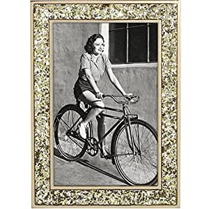 Kate Spade New York 872461 Simply Sparkling 5X7 frame gold