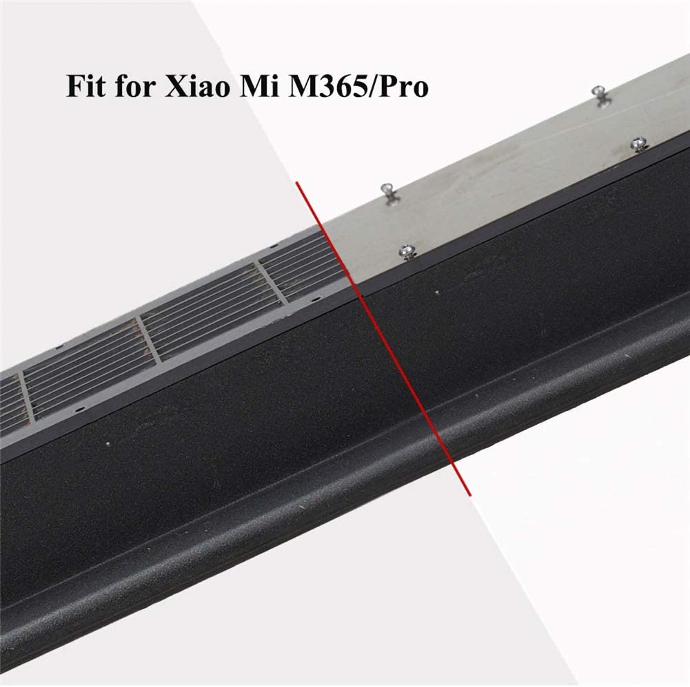 MorningBreeze Battery Bottom Cover Anti-Skid Protection Stainless Steel for Xiaomi M365 Pro Electric Scooter