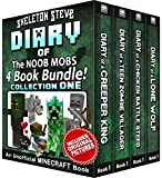 Diary Book Minecraft Series – Skeleton Steve & the Noob Mobs Collection 1: Unofficial Minecraft Books for Kids, Teens, & Nerds – Adventure Fan Fiction … Noob Mobs Series Diaries – Bundle Box Sets)