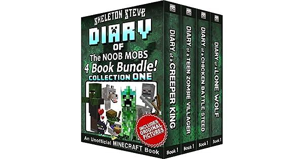 Amazon.com: Diary Book Minecraft Series - Skeleton Steve ...
