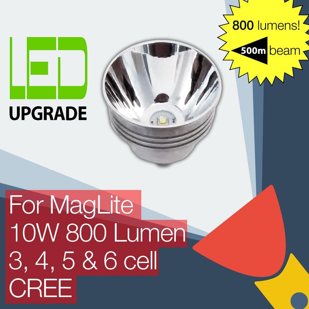 MagLite LED Upgrade Ersatz lampe 800LM Hohe Leistung Taschenlampen 3D zellen 4D 5D 6D zellen 3D CREE 60144d