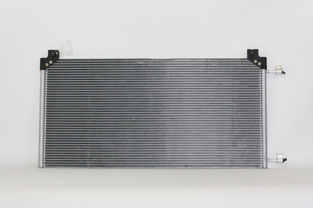 A-C Condenser Pacific Best Inc For//Fit 3026 00-13 GMC Suburban Yukon XL Denali Tahoe Escalade 99-07 Silverado//Sierra With Rear A//C