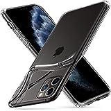 【Spigen】 iPhone 11 Pro ケース 5.8インチ 対応 TPU 傷防止 レンズ保護 超薄型 超軽量 Qi充電 ワイヤレス充電 クリア リキッド・クリスタル 077CS27227 (クリスタル ・クリア)
