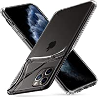 Spigen Liquid Crystal Kompatibel mit iPhone 11 Pro Hülle, Transparent TPU Silikon Handyhülle für iPhone 11 Pro Case Crystal Clear 077CS27227