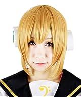 Miccostumes Men's Vocaloid Kagamine Len Cosplay Wig