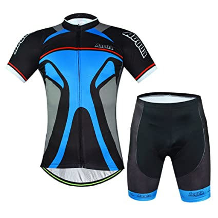 151dbcd91 Aogda Cycling Jerseys Men Bike Shirt Biking Short Sleeve And Bib Shorts  Suit Bicycle Clothing (