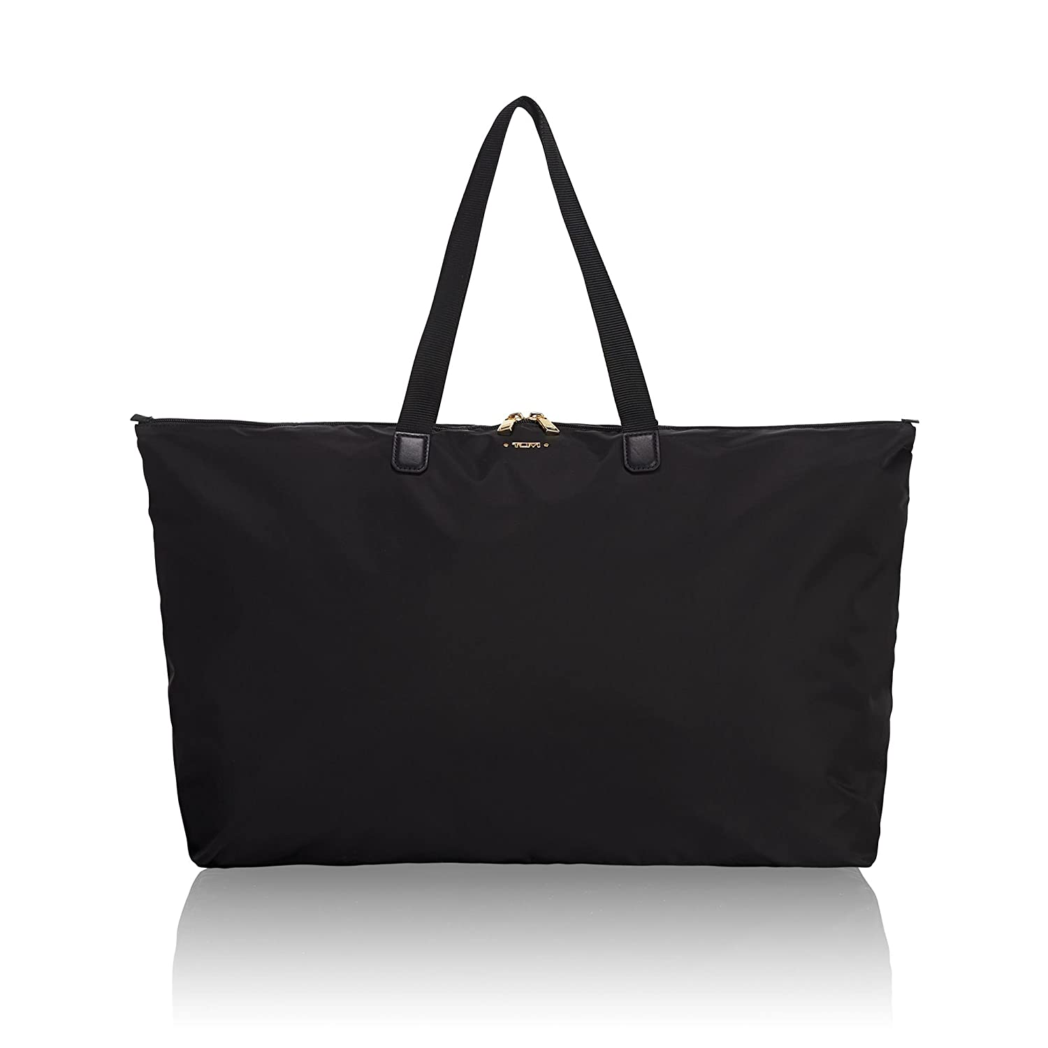 e4aae6558 Amazon.com: TUMI - Voyageur Just In Case Tote Bag - Lightweight Packable  Foldable Travel Bag for Women - Black: Clothing
