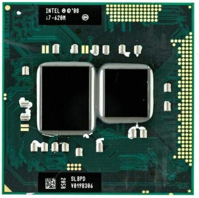 Intel Core I7 620M 2.66 GHz Dual-Core Processor Socket G1 Mobile CPU