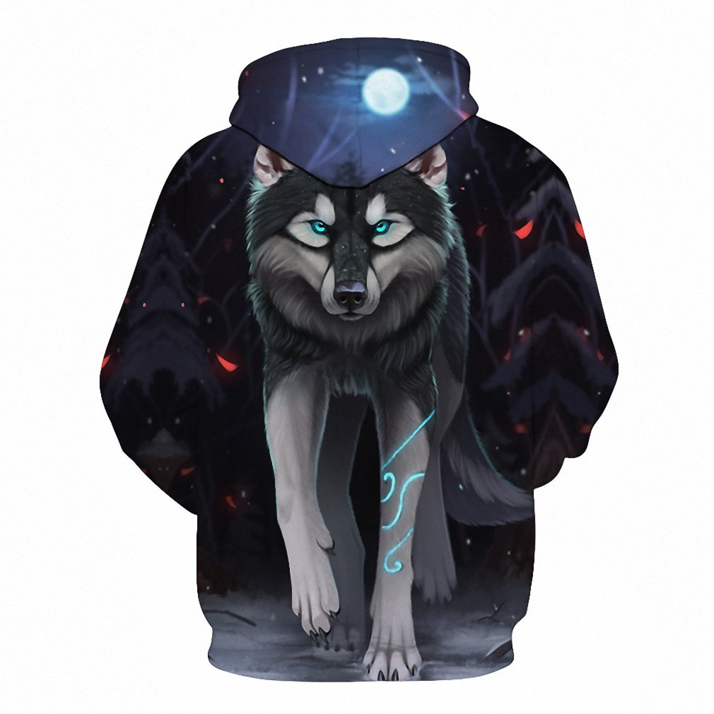 Animal Wolf Hoodies Men 3D Printed Hip Hop Streetwear Hoodie Sweatshirt Casual Pullovers Sportswear Tracksuit Dropship hoodies men 4XL at Amazon Mens ...