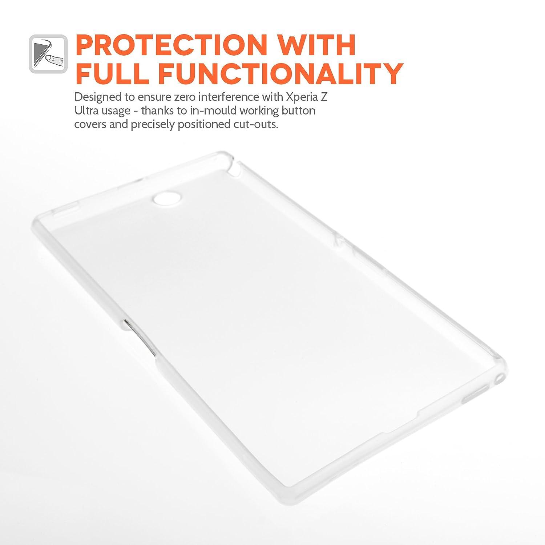 Amazon.com: Sony Xperia Z Ultra Case (silicona), transparente