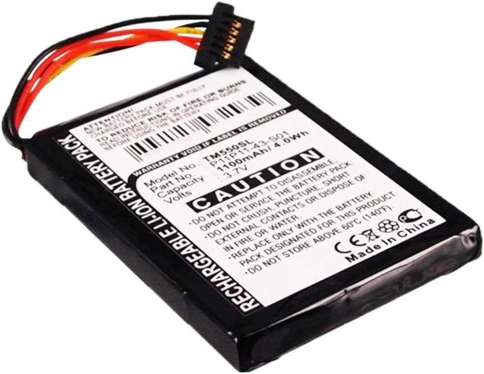 subtel® Batería Premium Compatible con Tomtom GO 550, GO 550 Live ...