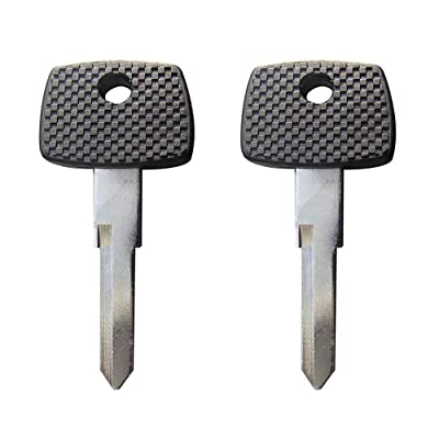 New Replacement Transponder key Chipped Uncut Blade / T5 Chip / MB17 for Mercedes Benz (1) (2): Automotive