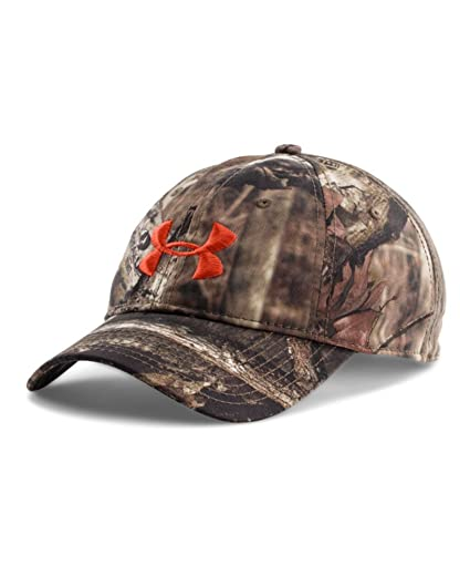 7aa74a65986 Under Armour Men s UA Camo Cap One Size Fits All Mossy Oak Break-Up Infinity