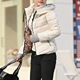 Women'S Winter Jacket Thick Long Sleeve Hooded