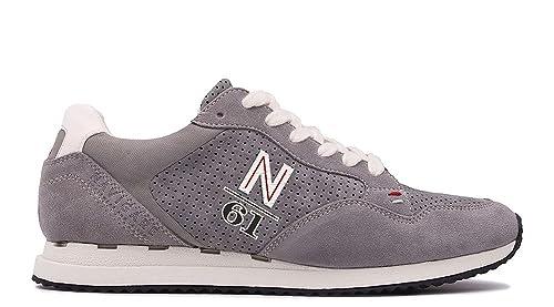 Navigare Sneakers Grigio Scamosciato Uomo  Amazon.it  Scarpe e borse d25827e27e9