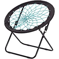 OCC Bungee Cord Dish Chair (Circle), Bunjo Chair High Intensity and Secure, Fun for Adults and Kinds