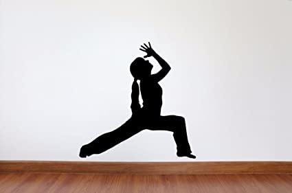 Amazon.com: Yoga Wall Decal - 27