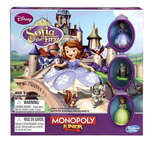 Hasbro A8850 Monopoly Jr Sofia The First