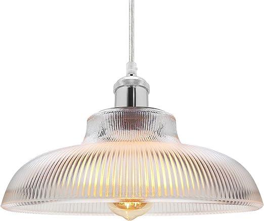 Antique Silver Vintage Pendant Light Classic Retro Glass Ceiling Light Shade Bowl M0180 Amazon Co Uk Lighting