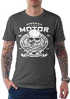 t-shirt tête de mort luxe 1