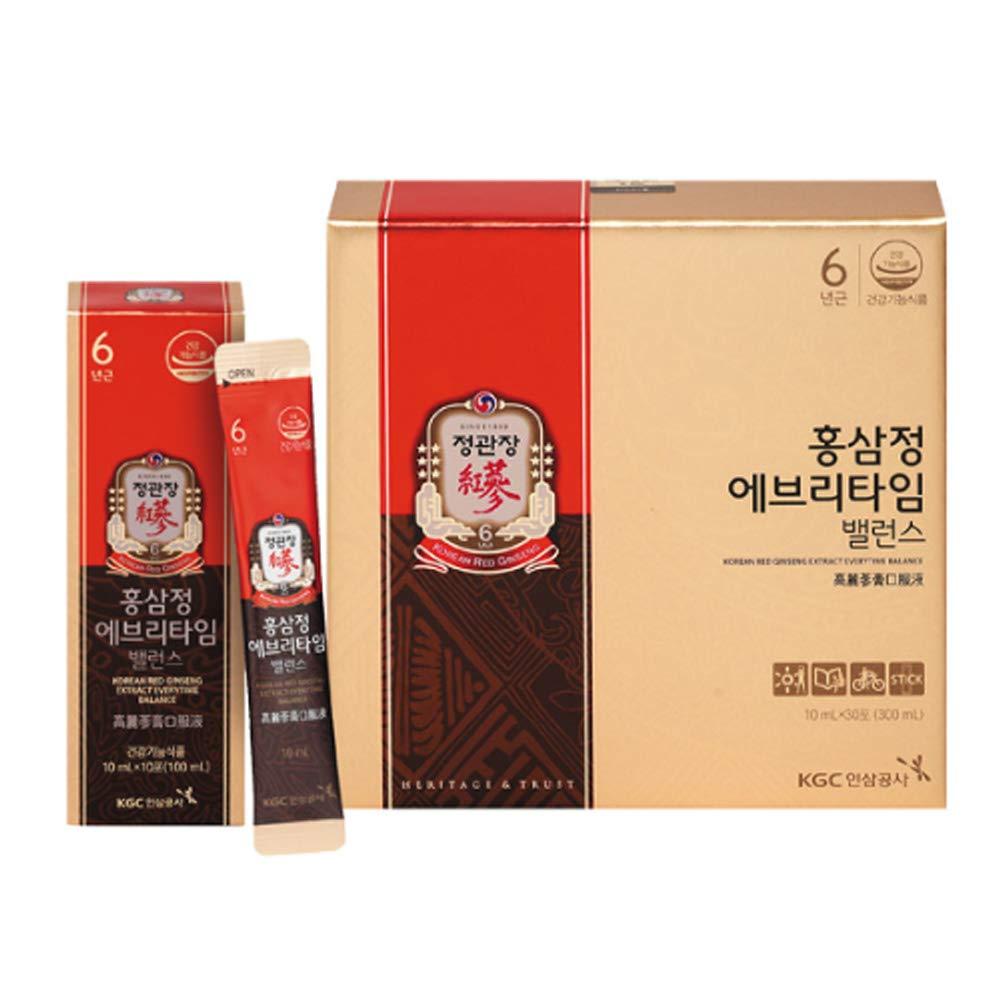 KGC Cheong Kwanjang Korean Red Ginseng Extract Everytime Balance Stick(10ml x 30 ea)