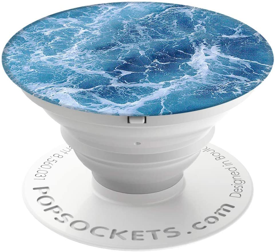 PopSockets: Collapsible Grip & Stand for Phones and Tablets - Ocean From The Air