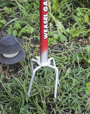 Garden Weasel Step and Twist Hand Weeder