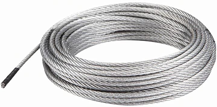 50 Ft X 5 32 In Aircraft Grade Wire Rope Amazon Com