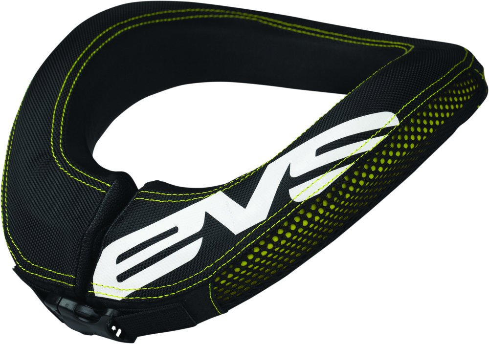 EVS RC2 Youth Race Collar Off-Road/Dirt Bike Motorcycle Body Armor - Black / One Size by EVS