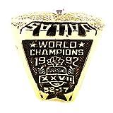 Budazo Mens 1992 Dallas Cowboys Championship Titanium Steel Rings,US 13