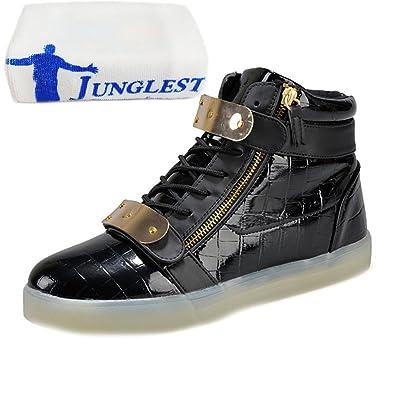 [Present:kleines Handtuch]Weiß 39 EU Sport Schuhe Freizeitschuhe weise Leucht Erwachsene USB Winter laufende JUNGLEST und Damen Leuchtend Herbst schuhe Paare qUTxJ8Btgp