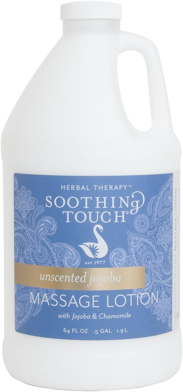 Soothing Touch Unscented Jojoba Massage Lotion, 1/2 gallon : Massage Lotion Half Gallon : Beauty