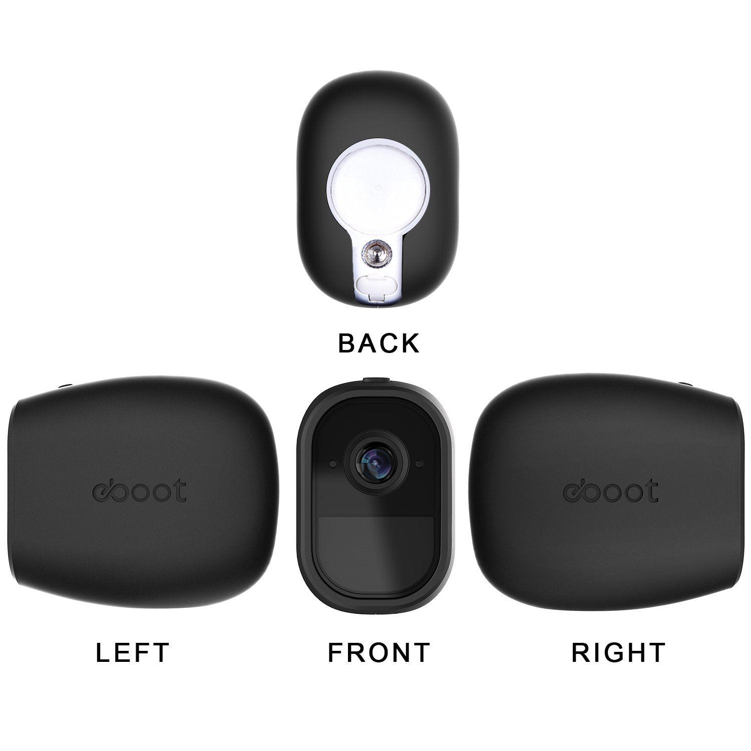 eBoot 3 Pack Silicone Skins Security Camera Skin for Arlo Pro Smart ...