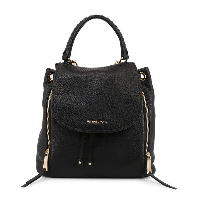 Michael Kors Women Fashion Backpacks Black Genuine Designer