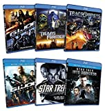 6 Blockbuster Hits Pack [Star Trek / Transformers / G.I. Joe] [Blu-ray]