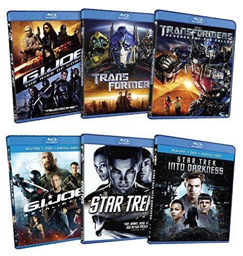 6 Blockbuster Hits Pack [Star Trek / Transformers / G.I. Joe] [Blu-ray] (Gi Joe The Movie Blu Ray)