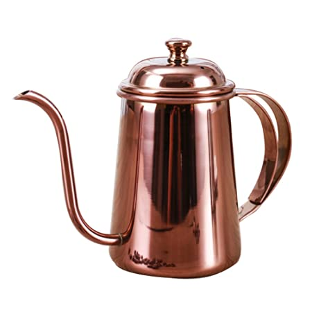 zyurong 650ml Coffee Drip Kettle, Thickened 188 Stainless