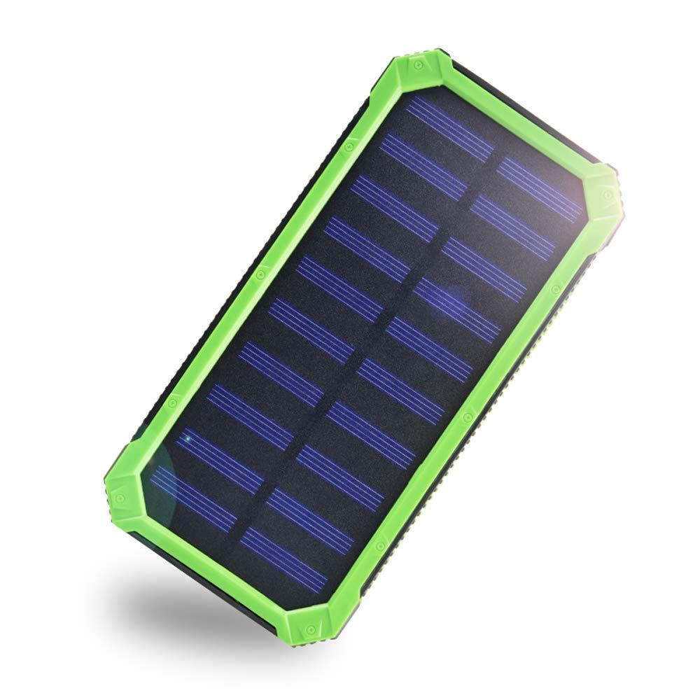 Cargador Solar Portatil Con Bateria De 20000mah Eremoki