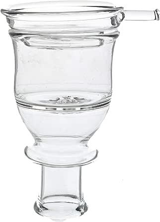 مجموعة من حجر زجاج ومصفاة فحم زجاج من ماستر ديلز