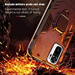 Winble Back Cover for Redmi Note 10s / Redmi Note 10 Back Cover Case Bumper Protection Armor with Ring Holder Back Cover…
