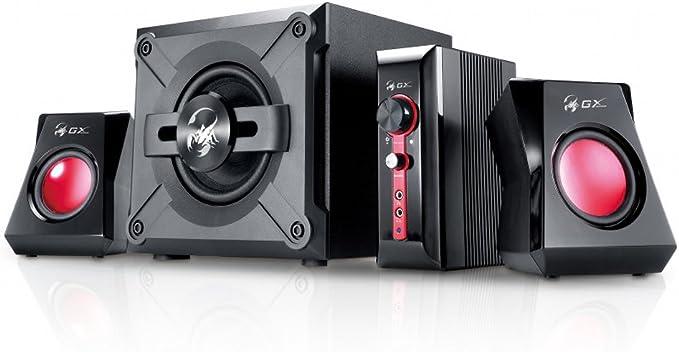 Genius Sw G2 1 1250 2 1 Lautsprechersystem Mit Subwoofer 38 Watt Rms Audio Hifi