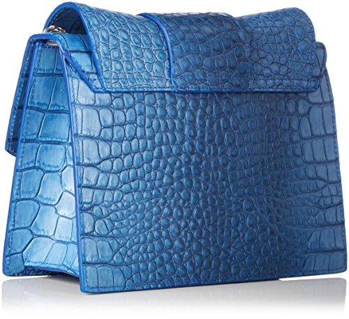Marc Cain Jb Ti.27 L03 - Borse a spalla Donna, Blau (Marina), 9x20x24 cm (B x H T)
