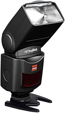 Digitek® Electronic Flash Speedlite with 2.4G Inbuilt Receiver, Flash Function Control Even from 30 Meters(DFL 088COMBO)