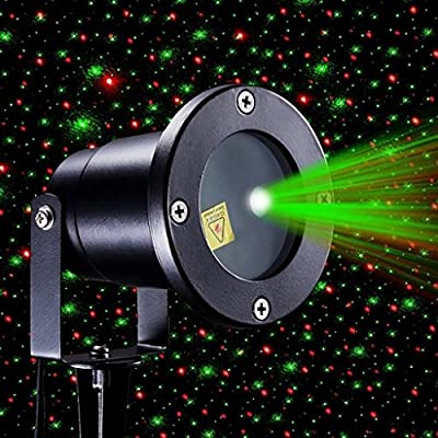 Laser Projector Show Light Outdoor LED Stage Spotlight Christmas Sky Laser Lamp