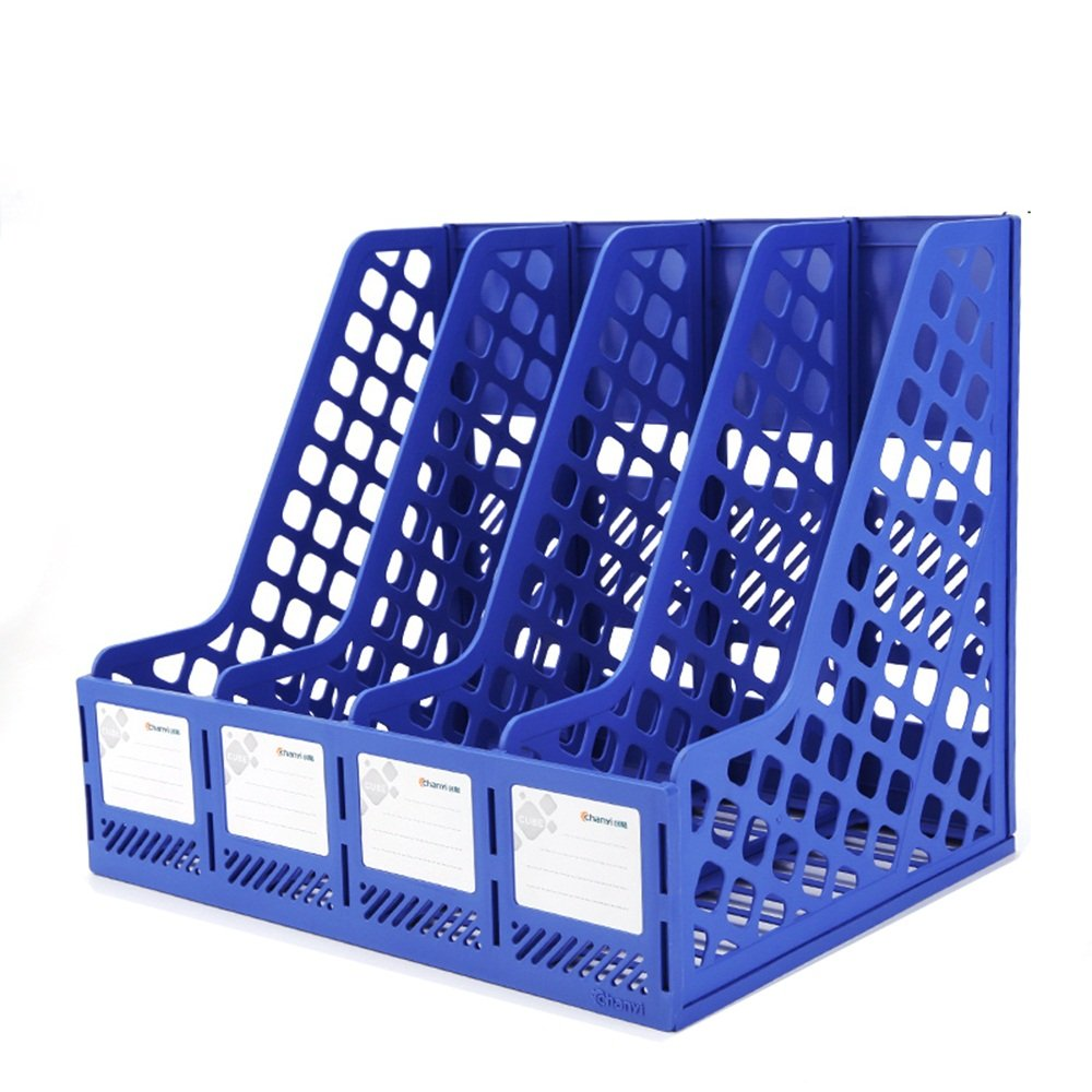 Lagerregal Student Book Stand-Datei, Desktop-Ordner Aufbewahrungsbox Aufbewahrungsbox Aufbewahrungsbox (Farbe   SCHWARZ, größe   24  25.5  31cm) B07M7WYST6 | Spielzeug mit kindlichen Herzen herstellen  792c23