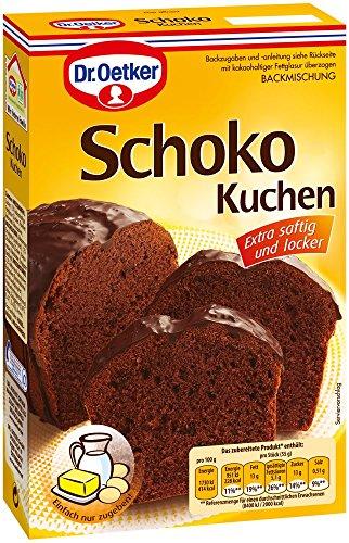 Dr. Oetker Schoko-Kuchen, 8er Pack (8 x 485 g Packung)